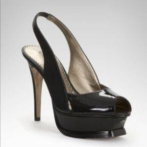 Bebe Zahara Peep Toe Pump Size 10